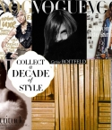 COLLAGE: CARINE ROITFELD VOGUE PARIS COLLECTION : ICONIC NOMAD STYLE