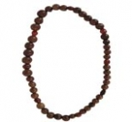 CHANEL WOOD & CARNELIAN NECKLACE- RARE AUTHENTIC VINTAGE