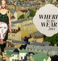 TRAVEL COLLAGE: WHERE TO GO NOMAD WEAR : TOP TRAVEL DESTINATIONS 2014