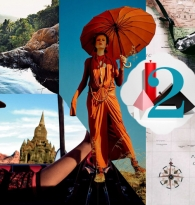 COLLAGE: RISE OF FEMALE TRAVEL : ON WORLDLY WOMEN , GLOBAL GALS & NOMAD CHIC SOUL