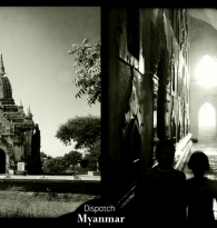 TRAVEL: MYANMAR DISPATCH BY GIGI STOLL