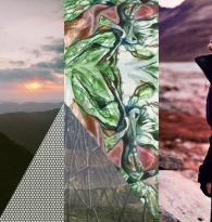 COLLAGE : TRAVEL : TOP TEN HIKES : WALKING TRIPS by LAURA CARSON MILLER