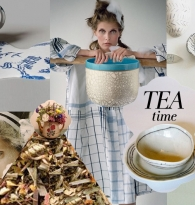 COLLAGE: TEA TIME : How to brew the perfect cup of loose tea by Blackbird Tea Company
