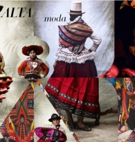 COLLAGE : Peru & Style : Alta Moda by Mario Testino