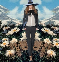 MAGIC MIRROR MEANDER :  SAINT  LAURENT  on  MOUNT  RAINIER