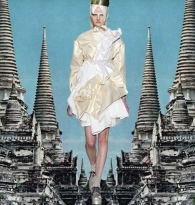 MAGIC MIRROR MEANDER : COMME  DES  GARCONS IN  BURMA