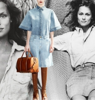 Denim Dames Givenchy & Lauren Hutton