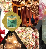 COLLAGE: CANDLE COMPASS