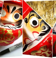 HOW TO USE A DARUMA DOLL