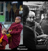 TRAVEL: MYANMAR DISPATCH BY GIGI STOLL : BUDDHIST ALMS IN MANDALAY