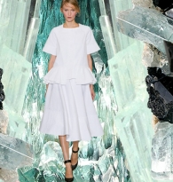 WAVES OF ENERGY : Crystals & Style Ruffles  :  Marni   &   Aquamarine