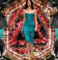 WAVES OF ENERGY : Crystals & Style Ruffles  :  Burberry  Prorsum  &  Tourmaline