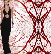 CHAKRA STYLE : CUTOUT CLOTHING & ENERGY   CENTERS  : MICHAEL KORS