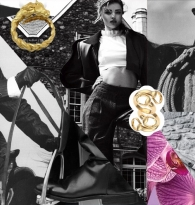 YEAR OF THE HORSE: FASHION STYLE INSPIRATION BOARD COLLAGE