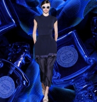 STYLE : RUNWAY RUNAWAY BLUES Spring 2014 Fashion : L'Heure Bleue by Guerlain