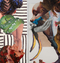 ART COLLAGE: Wangechi Mutu by Alexandra Thom