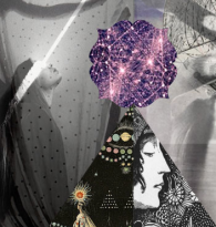 COLLAGE : SPIRITUAL MAPS & SPIRIT GUIDES by DO IT GIRL Sarah Durham Wilson