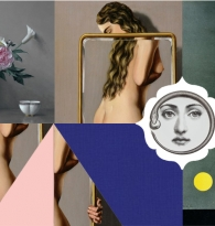 Collage: ADVENTURES IN SELF LOVE THROUGH INFINITE REGRESSION by Jesse Heid