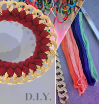 DO IT YOURSELF :  CHAIN KNIT BRACELET & NECKLACE DIY