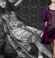 GYPSY CARAVAN OF RUNWAY DREAMS :  THEDA BARA & MARCHESA