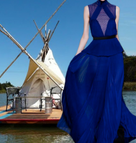 RUNAWAY BLUES STYLE FALL 2013 : TEEPEE RAFTS