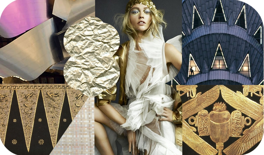 STYLE: GOLD COSTUMES DECONSTRUCTED