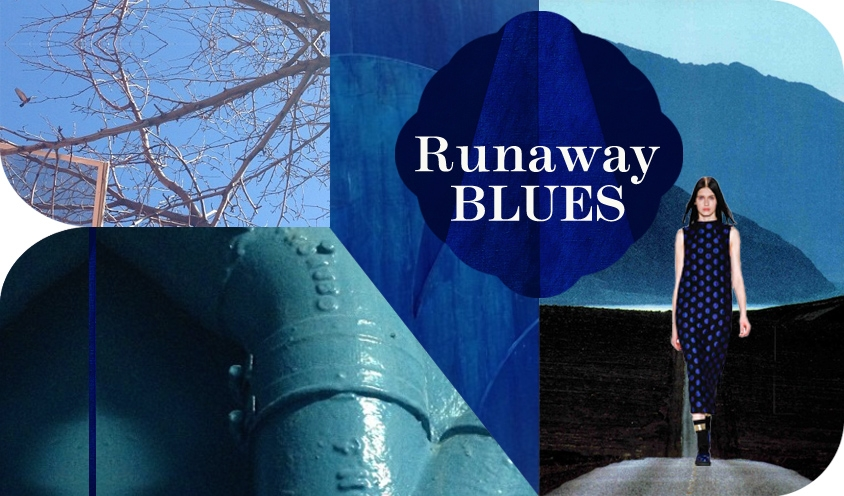 STYLE :Fall 2014 RUNWAY RUNAWAY BLUES Mirabelle Marden photographer artist curator