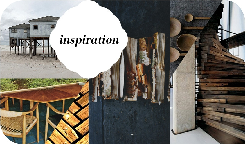 COLLAGE: INSPIRED USES OF WOOD IN DESIGN AND DECOR BY REKHA KRISHNAMURTHI