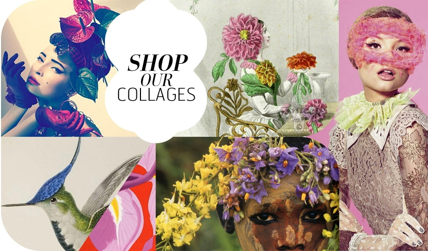 NOMAD CHIC COLLAGES : SHOP STORY SOUVENIRS