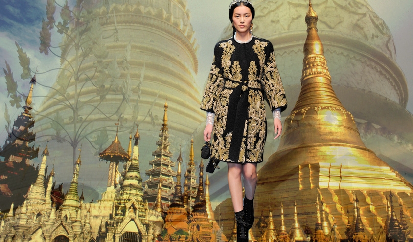 THE ARCHITECTURE OF STYLE : DOLCE GABBANA