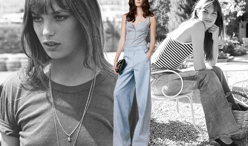 Denim Dames : Derek Lam &Jane Birkin