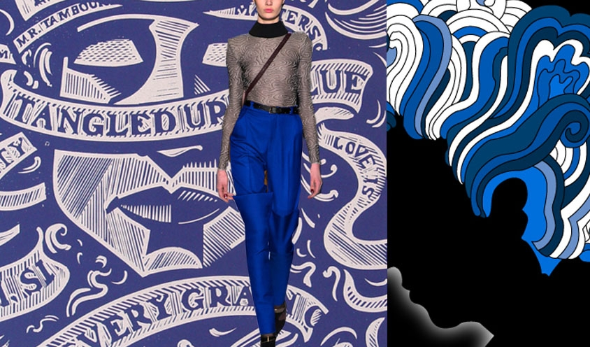 RUNAWAY BLUES STYLE FALL 2013 : BOB DYLAN TANGLED UP IN BLUE