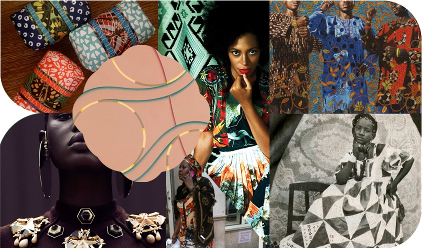 WEST AFRICAN STYLE : PATTERN PLAY