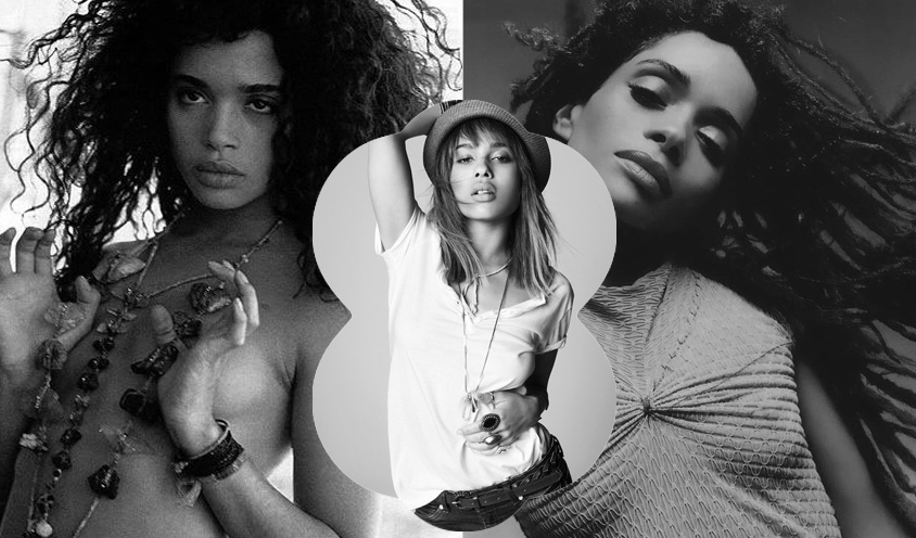 INSPIRED MOTHERS & DAUGHTERS : Lisa Bonet and Zoe Kravitz