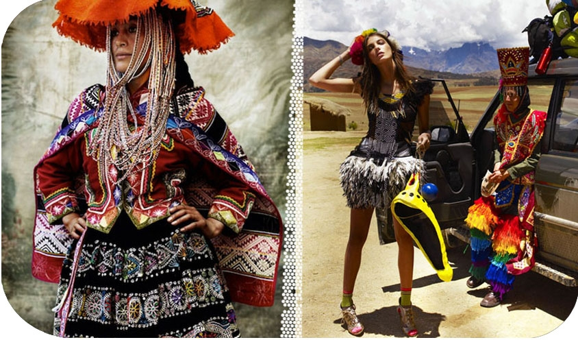 FASHION : Cusco Style , Peru : Alta Moda by Mario Testino