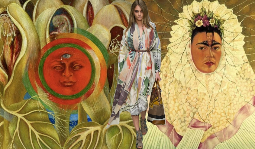 Style: NOMAD CHIC Spirit : Pioneer Female Artists of the 20th Century: Frida Kahlo