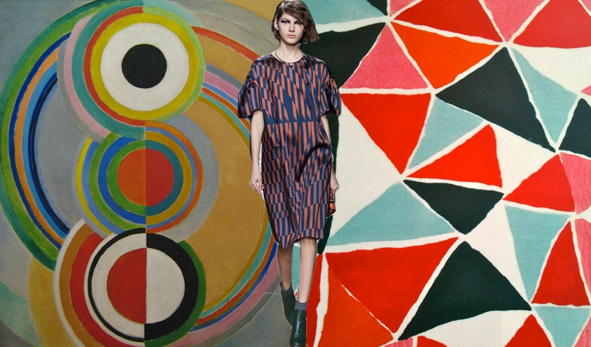 Style: NOMAD CHIC Spirit : Pioneer Female Artists of the 20th Century: Sonia Delaunay