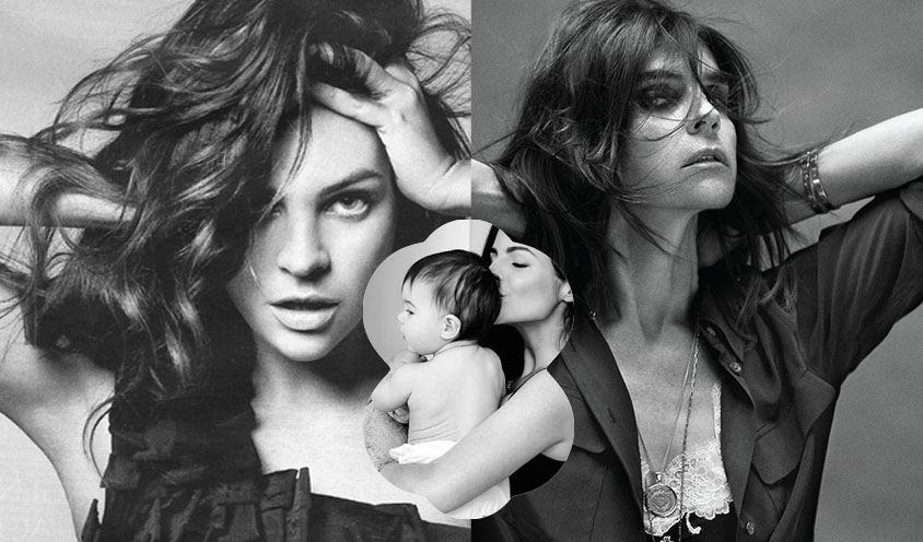 INSPIRED MOTHERS & DAUGHTERS : Carine Roitfeld, Julia Restoin Roitfeld & Romy