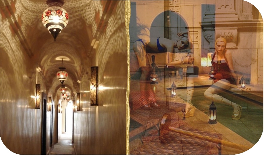HAMMAM TOP TEN: BEST BATH SPAS IN THE WORLD: Les Bains de Marrakech Marrakesh Morocco