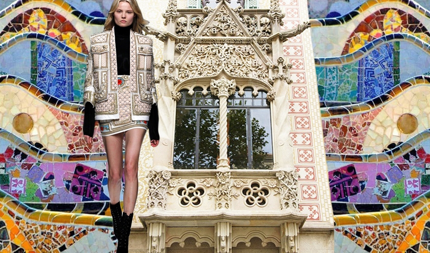 THE ARCHITECTURE OF STYLE: BALMAIN