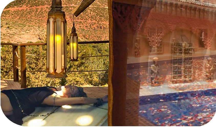 HAMMAM TOP TEN: BEST BATH SPAS IN THE WORLD: Asanfou Spa at Kasbah Tamadot Home Asni