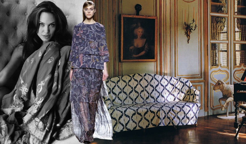 GYPSY CARAVAN OF RUNWAY DREAMS : ANGELINA JOLIE & DRIES VAN NOTEN