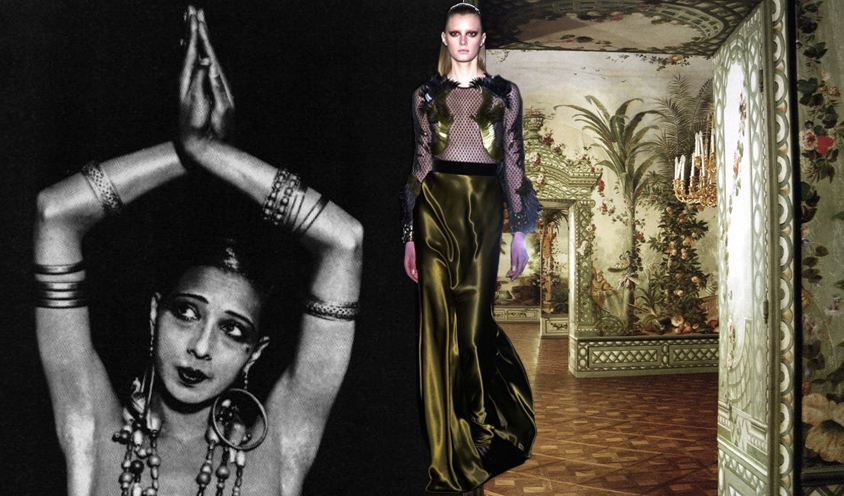 GYPSY CARAVAN OF RUNWAY DREAMS : JOSEPHINE BAKER & GUCCI